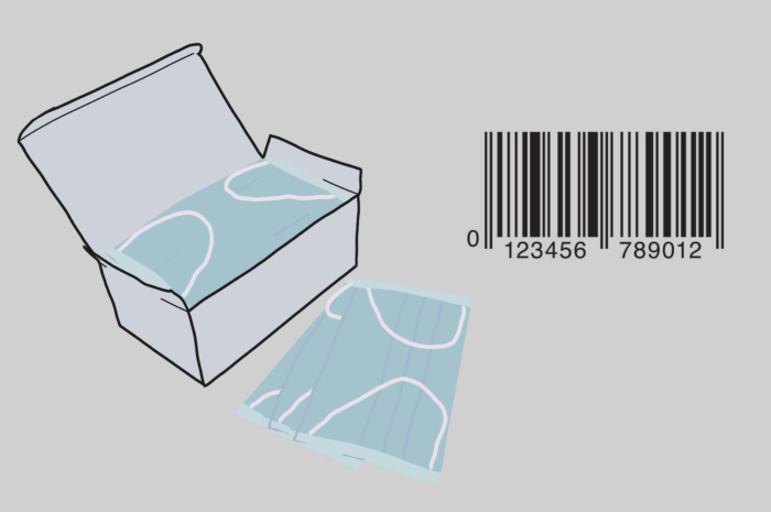 Передача кода EAN13 при продаже средств индивидуальной защиты